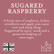 Sugared Raspberry (Pastels Collection) Glass Candle - Image 3