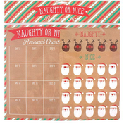 Naughty or Nice Countdown Chart