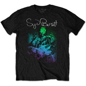 Syd Barrett - Psychedelic Men's Large T-Shirt - Black