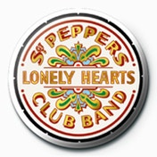 The Beatles - Sgt Peppers Logo Badge