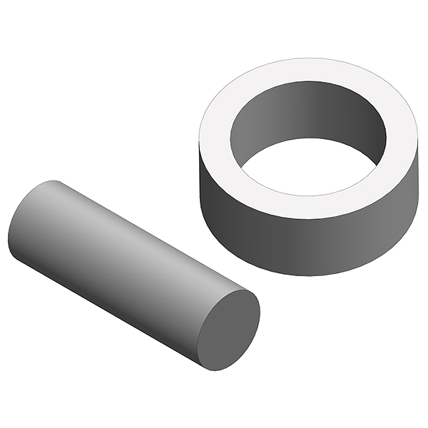 Corally Stub Axle Pin For Slipper Shaft Steel