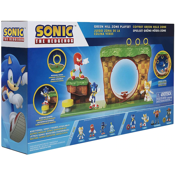 Green Hill Zone (Sonic The Hedgehog) Playset