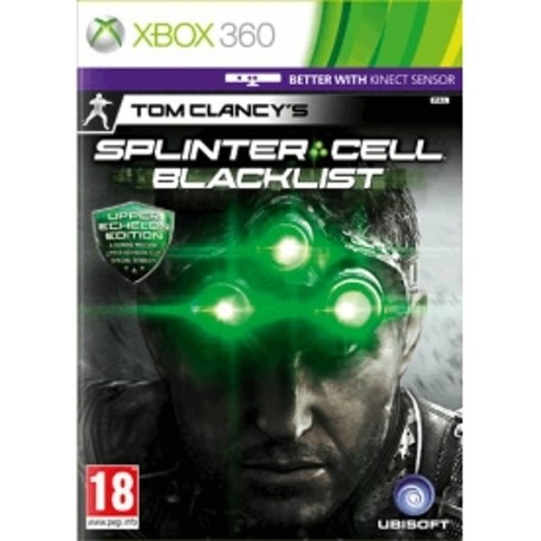 Tom Clancys Splinter Cell Blacklist (Kinect Compatible) Upper Echelon Edition Game Xbox 360