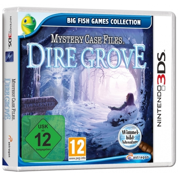 Mystery Case Files Dire Grove 3DS Game
