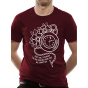 Lower Than Atlantis - Clock Men's X-Large T-Shirt - Red