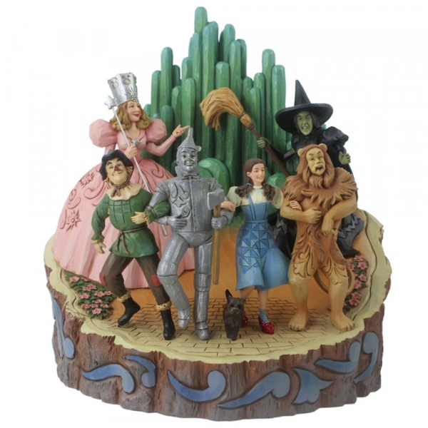 Adventure to the Emerald City (The Wizard of Oz) Figurine