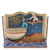 Romance Takes Flight (Storybook Aladdin) Disney Traditions Figurine