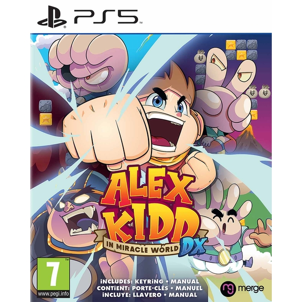 Alex Kidd in Miracle World DX PS5 Game