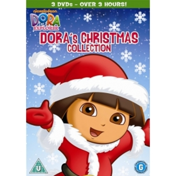 Dora The Explorer: Christmas Triple DVD
