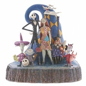 Ex-Display What a Wonderful Nightmare (Nightmare Before Christmas) Disney Traditions Figurine Used - Like New