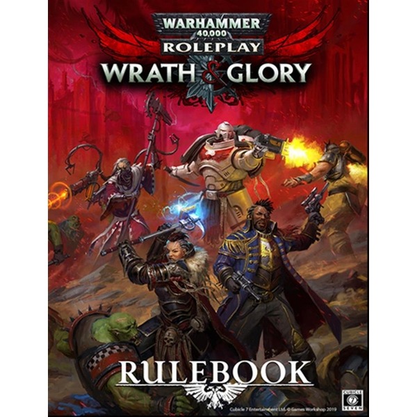 Warhammer 40000 Roleplay RPG (Revised Edition) - Wrath & Glory Core Rulebook