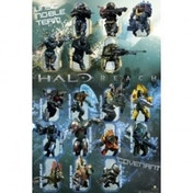Halo Reach Characters Maxi Poster