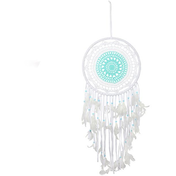 Blue & White Crochet Dreamcatcher Pack Of 2