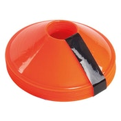 Precision Sleeved Set of 10 Saucer Cones - Orange