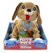 Snuggle Pets Peppy Pups - Brown Dog
