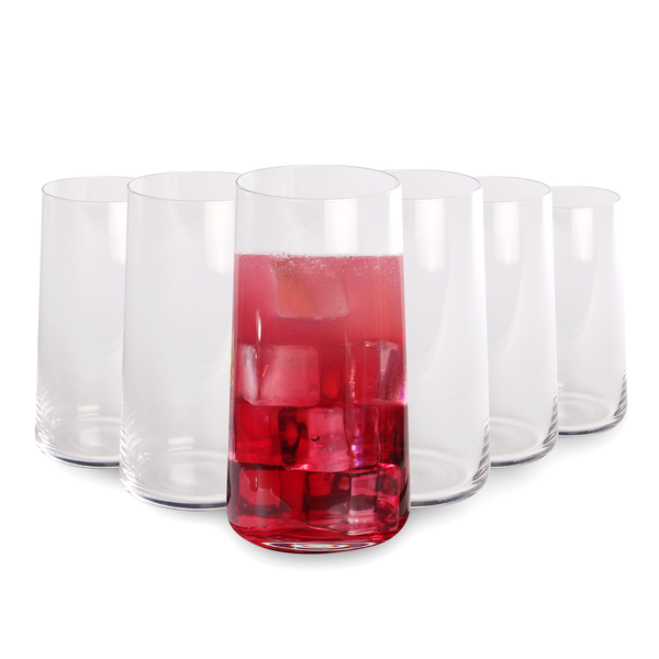Tall Drinking Glasses - Set of 6 | M&W