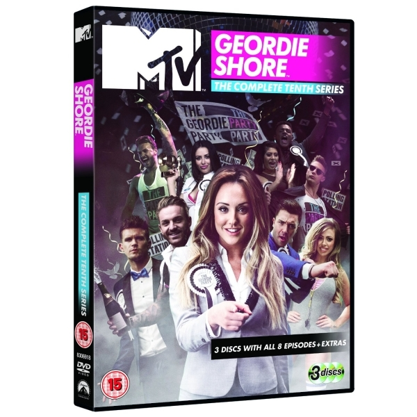Geordie Shore: The Complete Tenth Season DVD