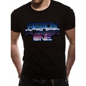 Ready Player One - Logo Men's Medium T-Shirt - Black