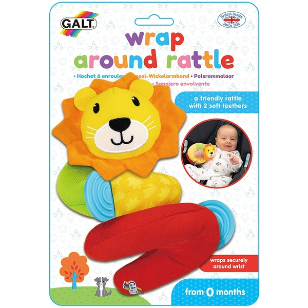 Wrap Around Rattle First Years Toy