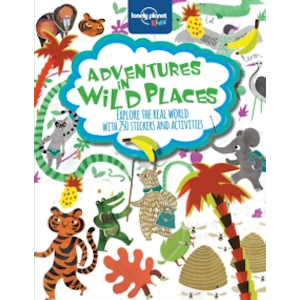 Adventures in Wild Places, Activities and Sticker Books by Lonely Planet Kids (Paperback, 2014)