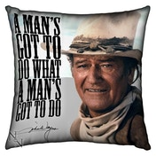 Large John Wayne Cushion