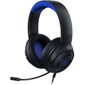 Razer Kraken X Gaming Headset  for PC Mac PS4 Xbox One & Switch with 7.1 Surround Sound On-Headset Controls Black/Blue
