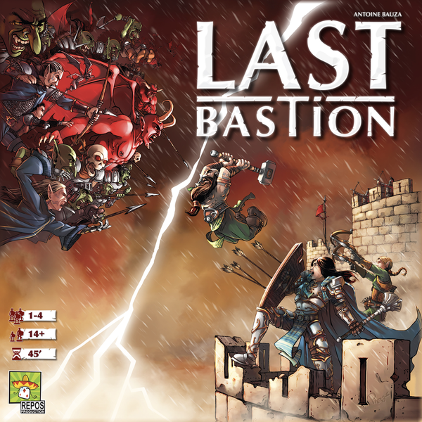 Last Bastion Board Game
