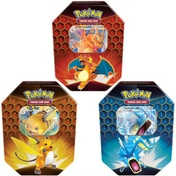 Pokemon TCG: Hidden Fates Tin Charizard/Gyarados/Raichu - 1 At Random