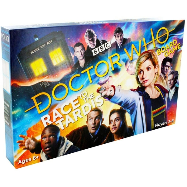BBC International Doctor Who Race To The Tardis Board Game