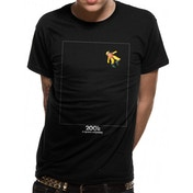 2001 Space Odyssey - Floating In Space Men's XX-Large T-shirt - Black