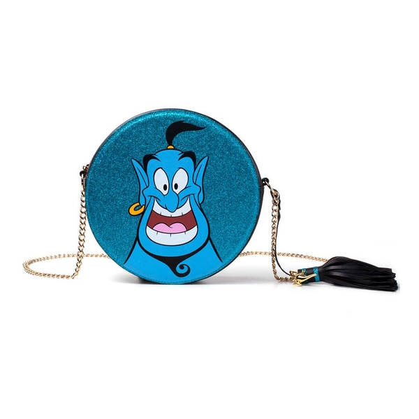 Disney - Glitter Genie Women's Shaped Shoulder Bag - Blue