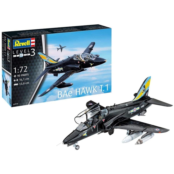 BAe Hawk T1 Scale 1:72 Revell Model Kit - Image 1