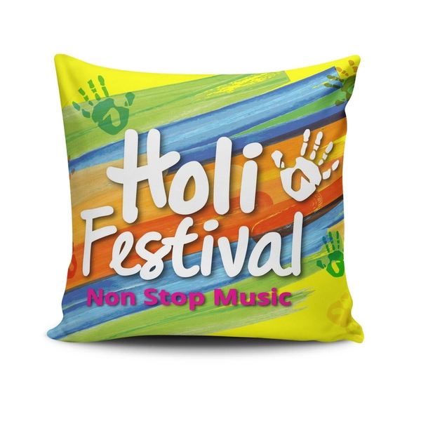 NKLF-357 Multicolor Cushion Cover