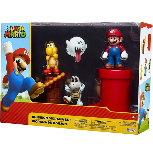 Dungeon Diorama (World Of Nintendo Super Mario) Figure Set