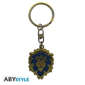 World Of Warcraft- Alliance Metal Keyring