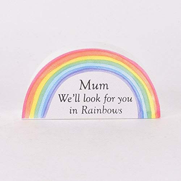 Thoughts of You Memorial Rainbow - Mum