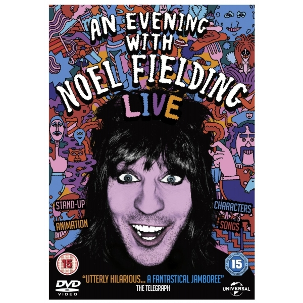 An Evening with Noel Fielding DVD