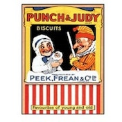 Postcard - Punch and Judy