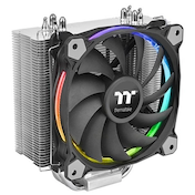Thermaltake Riing Silent 12 RGB Sync Edition Universal Socket 120mm PWM 1500RPM RGB LED Ring Fan CPU Cooler