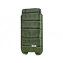 SOX Coccodrillo Genuine Leather Premium Mobile Phone Pouch for iPhone/Samsung and more, Large, Green (SOX KCOC 02 L)