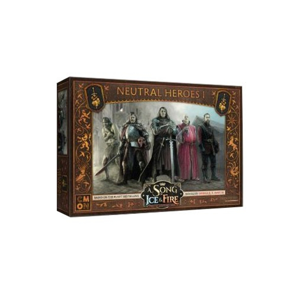 A Song of Ice & Fire: Tabletop Miniatures Game - Neutral Heroes 1 Expansion Board Game