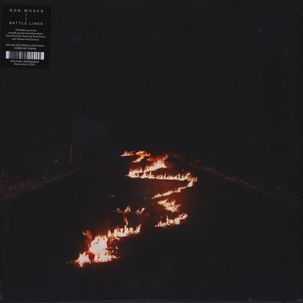 Bob Moses – Battle Lines Limited Edition Clear Vinyl