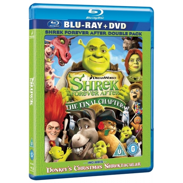 Shrek Forever After The Final Chapter Blu-Ray & DVD