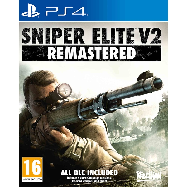 Sniper Elite V2 Remastered PS4 Game - Image 1