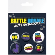 Battle Royale Infographic Badge Pack