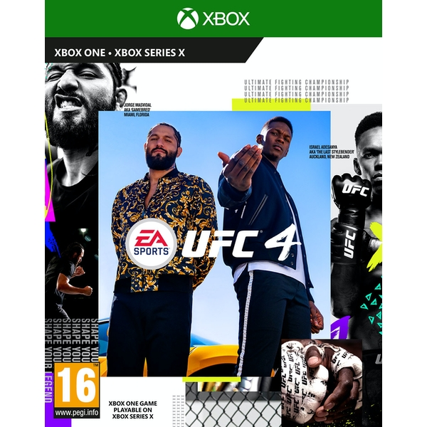 UFC 4 Xbox One Game