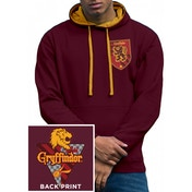 Harry Potter - House Gryffindor Men's Small Hoodie - Red
