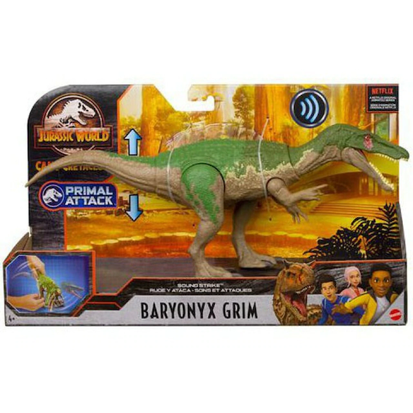 Baryonyx Grim (Jurassic World) Sound Strike Dinosaur Figure