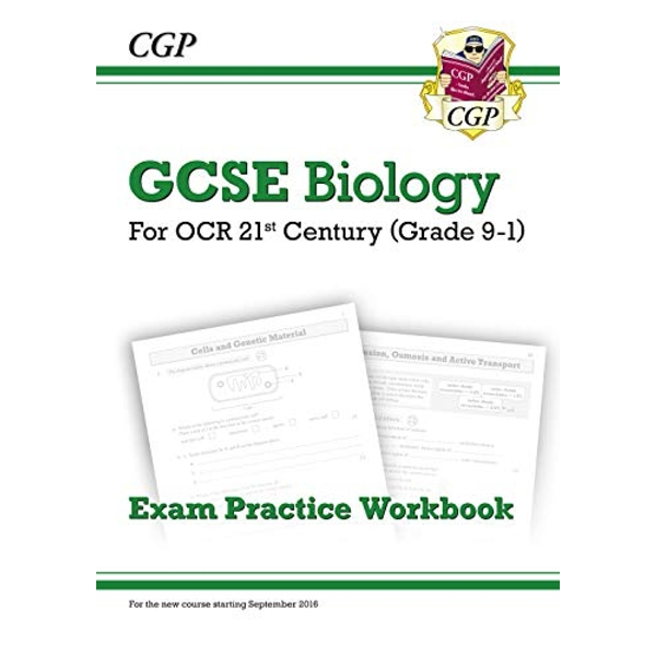 New Grade 9-1 GCSE Biology: OCR 21st Century Exam Practice Workbook by CGP Books (Paperback, 2016)