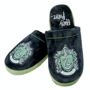 Harry Potter Mule Slippers Black & Green Adult Large UK Size 8-10